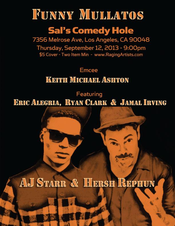Standup Comedy: Funny Mulattos September 12, 2013