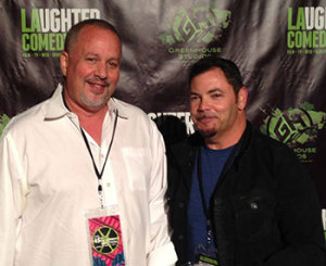 Stu and Hersh at the LA Comedy Fest